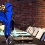 Briday Table with Royal Napkins