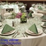 Celadon Overlay Table Setting