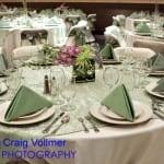 Celadon Overlay Table Setting