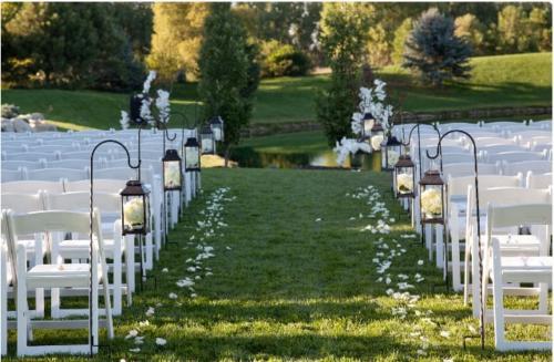 Ceremony Chairs w/ Shepherd Hooks