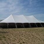 Graduation Pole Tent Rentals