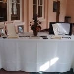 Reception Table Rentals