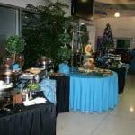 Serpentine Buffet Tables