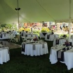 Tented Reception w/ Dance Floor