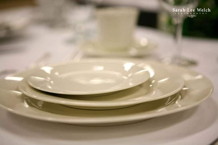 Ivory China Place Setting