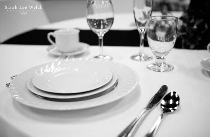 White China Place Setting