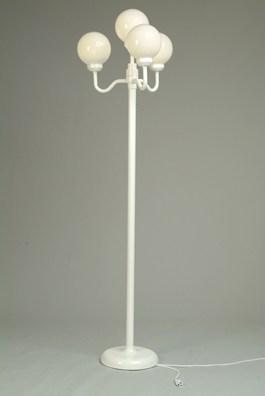 Lamp Post, 4 Globe