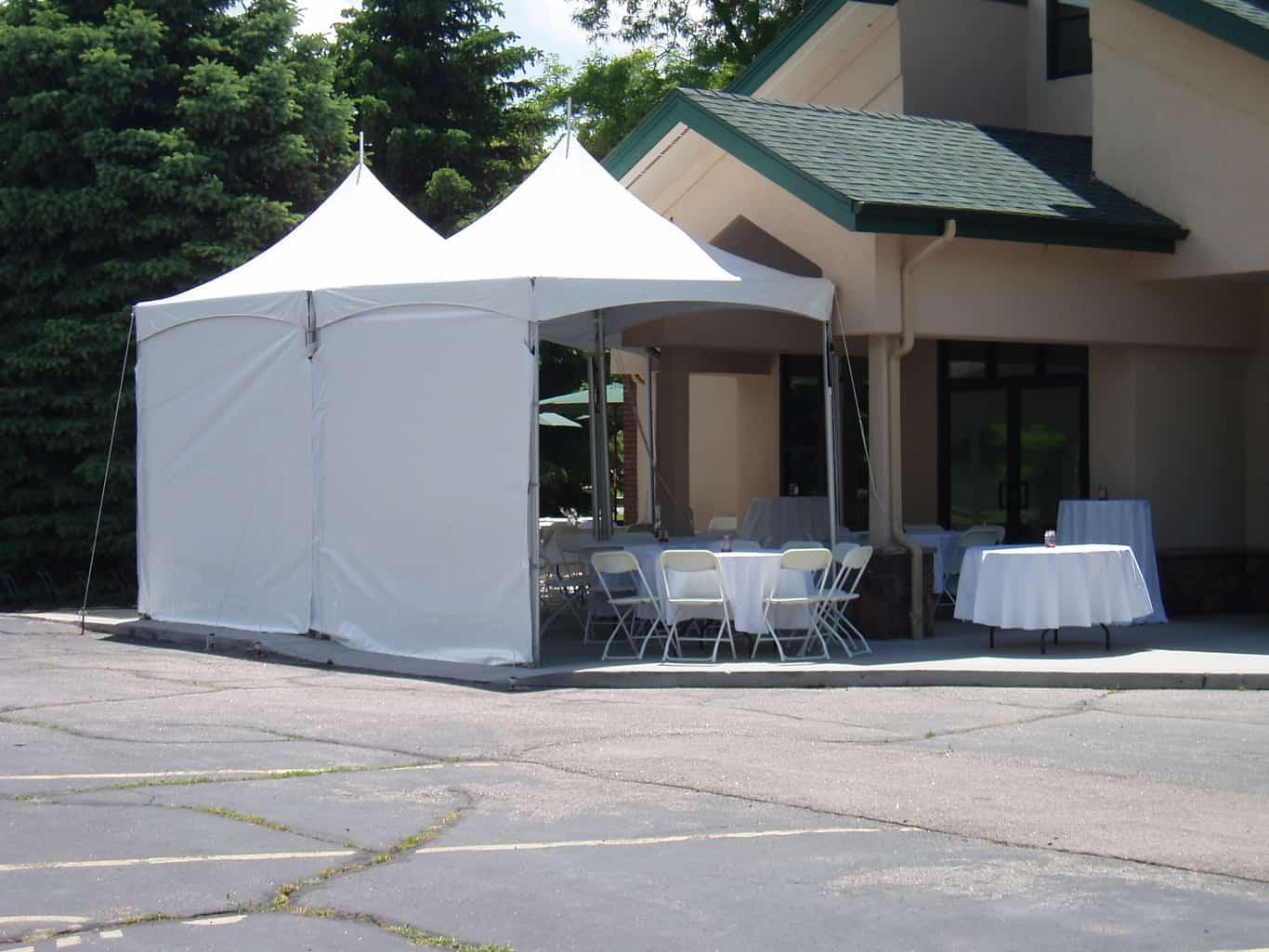 Frame Tent Window Sidewall. ?; ? & Frame Tent Sidewalls - Front Range Event Rental