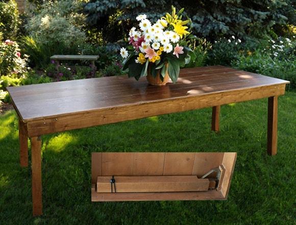 Farm Tables Front Range Event Rental
