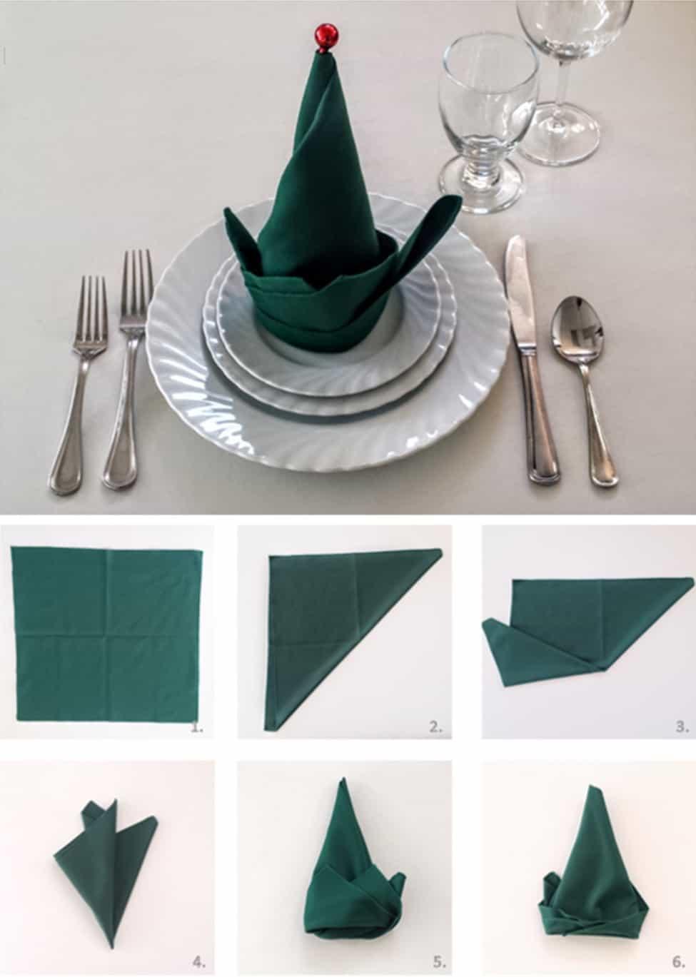 Napkin Folding Christmas.Napkin Folding Blog Front Range Event Rental