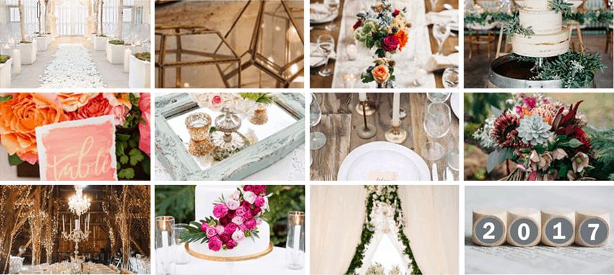 Wedding Trends 2017.2017 Wedding Trends Theme Front Range Event Rental
