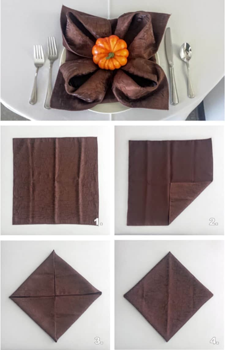 Thanksgiving Napkin Folding Blog Front Range Event Rental
