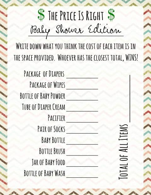 Baby Shower Games That Are Actually Fun Front Range Event Rental
