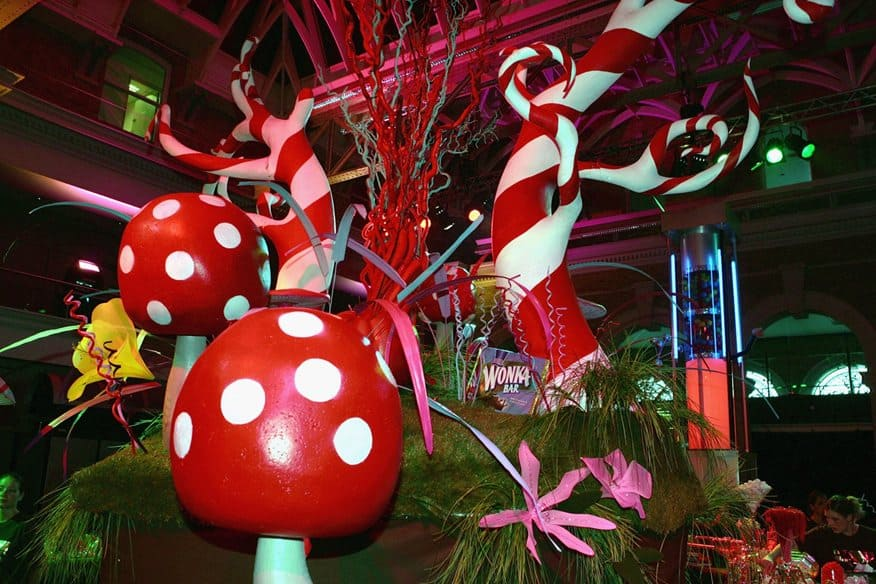 Candyland Chocolate Factory Christmas Party.Unique Holiday Party Celebrations For Your Company Party