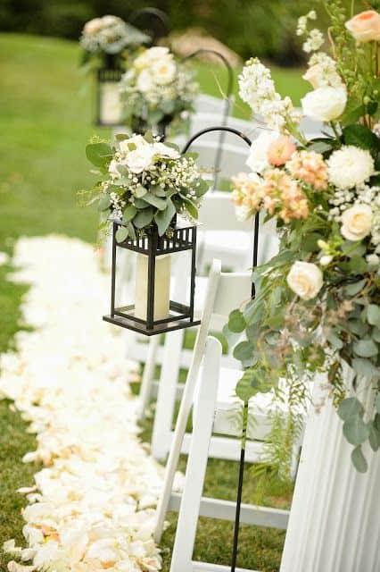 2018 Wedding Aisle Décor Trends