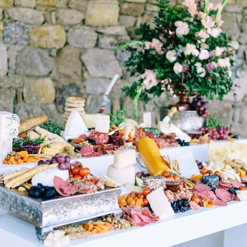 2018 Wedding Trends, Food