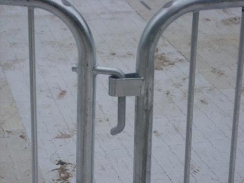 Metal Fencing Hook and Loop
