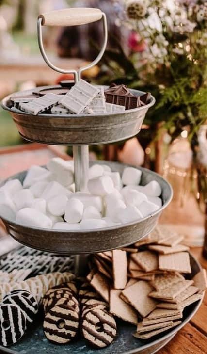 trending-wedding-S\'mores-Bar-food-station-ideas - Front Range Event ...